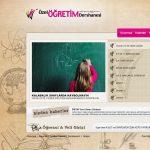 Özel Öğretim Dershanesi Web Project 2012
