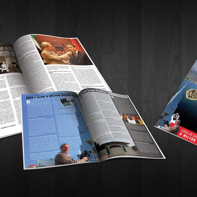 Deviri Alem Dergisi - Tasarımı