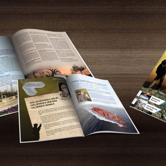 Vizyon Dergisi - Tasarımı