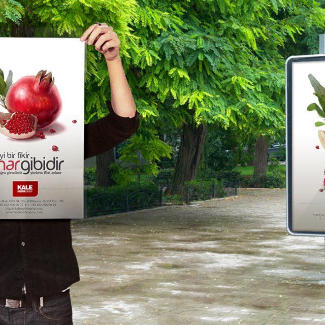 Kale Medya Reklam Tasarımı