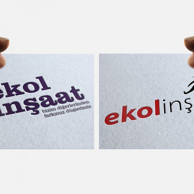 Ekol İnşaat Logo Tasarımı