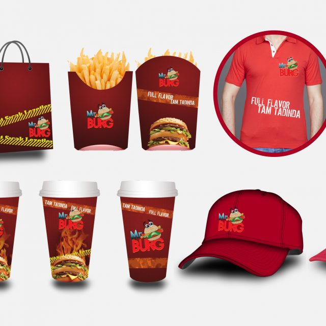 Mr Burger Kurumsal Kimlik Çalışması